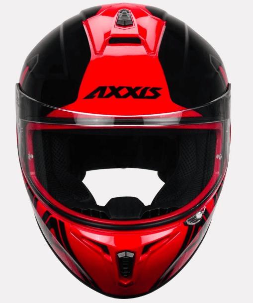 AXXIS DRAKEN DEKERS GLOSS HELMETS: Red
