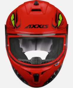 AXXIS DRAKEN FORZA GLOSS HELMETS: Red