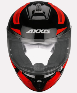 AXXIS DRAKEN RONIN GLOSS HELMETS: Red