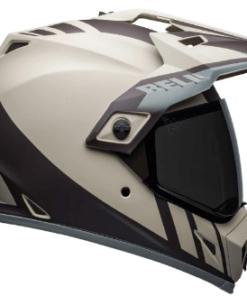 Bell MX-9 Adventure MIPS Dash Matte Helmet: Sand / Brown / Grey