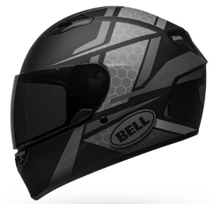 BELL QUALIFIER FLARE MATT HELMET: Black / Grey