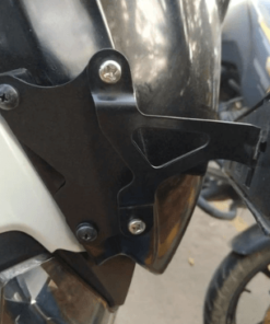 CARBON RACING NUMBER PLATE EXTENSION for Dominar Windshield