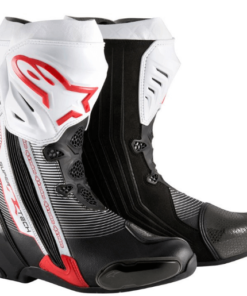 ALPINESTARS SUPERTECH R BOOTS: Black / Red / White