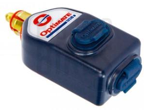OPTIMATE O-115 DIN DUAL USB STRAIGHT CHARGER