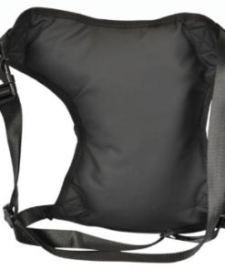 CARBONADO VECTOR WAIST BAG: Black