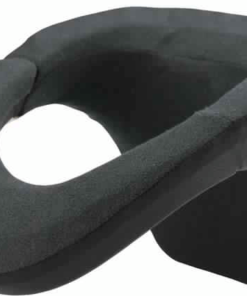 KOMINE NECK BRACE SUPERB FREE SIZE: Black