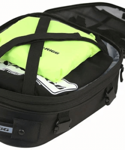 NELSON RIGG COMMUTER LITE MOTORCYCLE TAIL / SEAT BAG: Black
