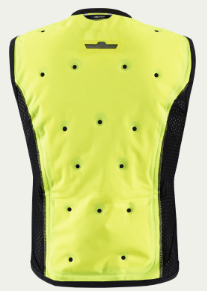 INUTEQ BODYCOOLING VEST SMART INNER JACKET: Yellow
