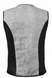 INUTEQ BODYCOOLING VEST XTREME INNER JACKET: Black / Grey