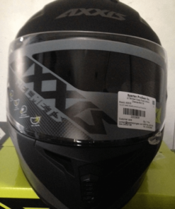 AXXIS DRAKEN MP4 MATT HELMETS: Black