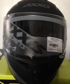 AXXIS DRAKEN MP4 MATT HELMETS: Black