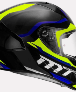 MT STINGER SUPRA C7 GLOSS HELMETS: Blue