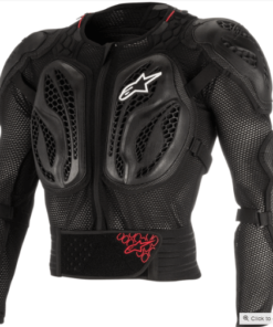 ALPINESTARS BIONIC ACTION JACKET: Black / Red