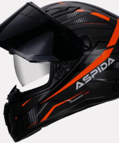 ASPIDA TOURANCE LEAD HELMET: Orange