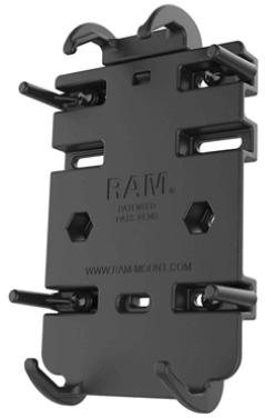 RAM QUICK-GRIP SPRING LOADED CRADLE for CELL PHONES (Without Handlebar)