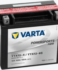VARTA POWER SPORTS AGM BATTERY: YTX12-BS