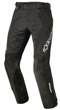 ALPINESTARS STRIKER AIR PANTS: Black