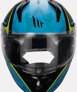 MT STINGER ACERO GLOSS HELMETS: Blue