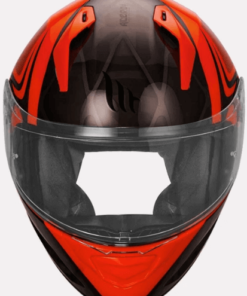 MT STINGER ACERO GLOSS HELMETS: Fluorescent Orange