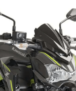 PUIG WIND SCREEN / WINDSHIELD FOR KAWASAKI Z900: Dark smoke