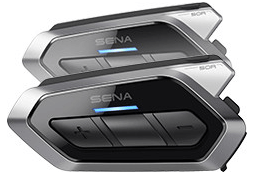 SENA 50R BLUETOOTH HEADSET and INTERCOM SYSTEM: Dual Pack