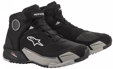 ALPINESTARS CR-X DRYSTAR SHOES: Black / Cool Grey