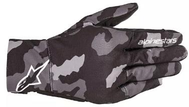 ALPINESTARS REEF GLOVES: Black / Grey / Camo