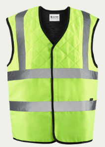INUTEQ BODYCOOLING VEST 2BSAFE INNER JACKET: Yellow
