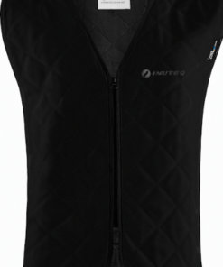 INUTEQ BODYCOOLING VEST BASIC INNER JACKET: Black