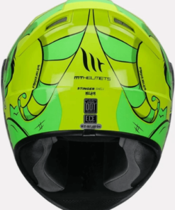 MT STINGER MELKOR E3 GLOSS HELMETS: Fluorescent Yellow