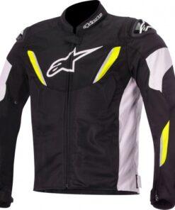 Alpinestars T-GP R Air Jacket: Black / White / Fluorescent Yellow