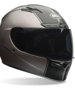 BELL QUALIFIER DLX RALLY HELMET: TITANIUM / BLACK