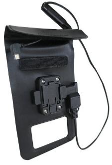 DIGIDOCK MOTORBIKE IPX6 WATERPROOF POUCH & CHARGER