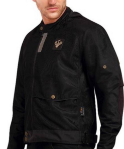 LEIIDOR ARETE PLUSH JACKETS: Black