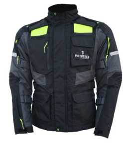 Mototech Trailblazer Tourpro Jacket: Black / Grey