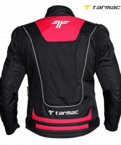 TARMAC ONE III JACKET: Black / Red