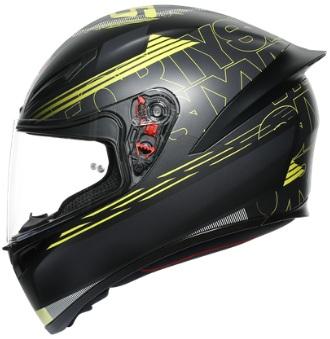 Agv K1 Top Track 46 Matt Helmets Black Graphics Color Suzuki Motorcycles Riding Store